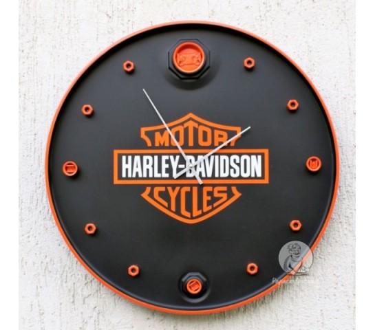 """Бочка-часы """"Harley Davidson"""""""