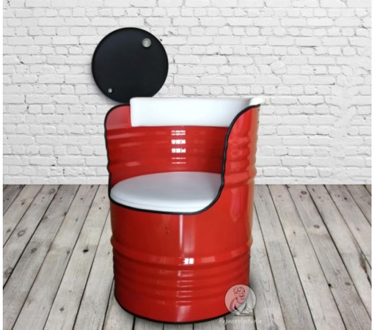 "Бочка-кресло ""Black&Red"""